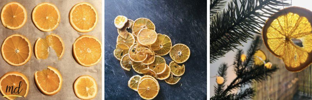 deco noel diy orange